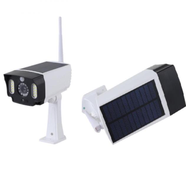 Ηλιακό φως LED με αισθητήρα κίνησης ομοίωμα κάμερας T-28 SDM